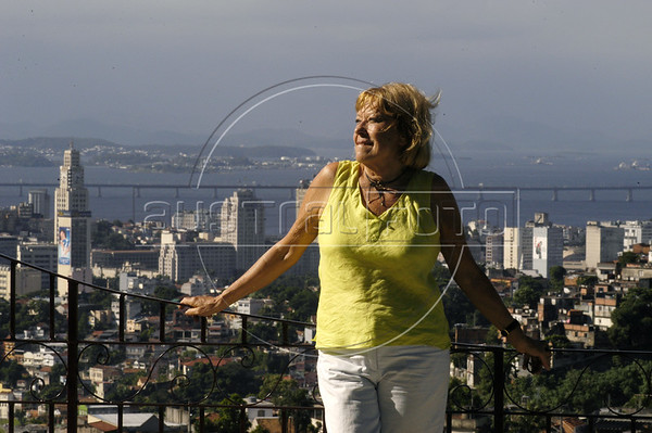 Author Lygia Bojunga in her home in Rio de Janeiro, Brazil.(Douglas Engle/Australfoto)