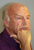 Uruguayan writer Eduardo Galeano listens to comments at the World Social Forum in Porto Alegre, Brazil, Jan. 29, 2005. The eclectic gathering of pacifists, environmentalists, libertarians, trade unionists and anti-establishment militants was timed to coincide with its nemesis, the World Economic Forum held thousands of kilometers (miles) away in the swank Swiss mountain resort of Davos. (Douglas Engle/Australfoto)