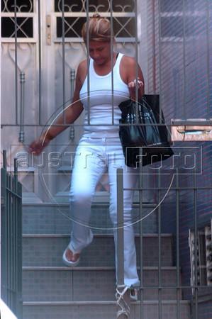 Cristiane Regina da Silva, Mother of Jesus Luz, current boyfriend of Pop star Madonna in Rio de Janeiro. (Australfoto/Bruno de Lima)
