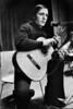 Daniel Viglietti, Uruguayan folk singer, guitarist, composer, and political activist during a show in Geneva, Switzerland, March 1977. (Austral Foto/Renzo Gostoli)