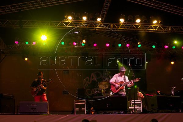 "Musician  Edu Krieger performs during the ""Viradao Carioca"" cultural festival in Rio de Janeiro, April 24, 2010. (Australfoto/Douglas Engle)"