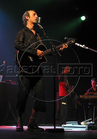 Brazilian musician Zeca Baleira performs in Rio de Janeiro.(Douglas Engle/Australfoto)