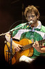 Moreno Veloso, son of famed Brazilian Musician Caetano Veloso, plays at the Free Jazz Festival in Rio de Janeiro, Brazil, October 20, 2000. (Australfoto/Douglas Engle)