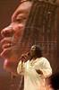 Milton Nascimento performs at Rock in Rio in Rio de Janeiro, Jan. 12, 2001.(Australfoto/Douglas Engle)