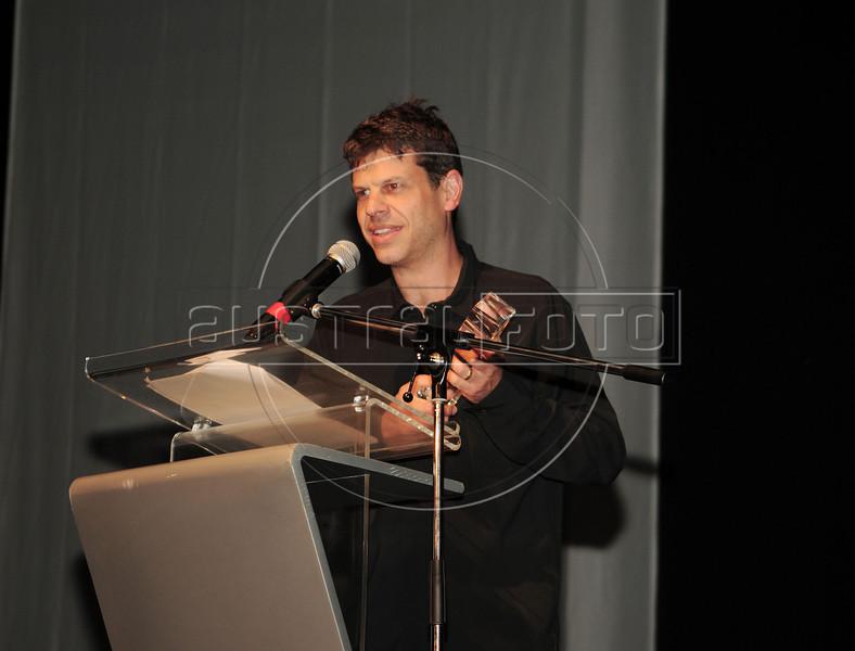 """PREMIO DE CINEMA ACIE 2012 - Ganhador do premio """"Melhor fotografia"""", Rio de Janeiro, Brasil, Maio 7, 2012. (Austral Foto/Renzo Gostoli)"""