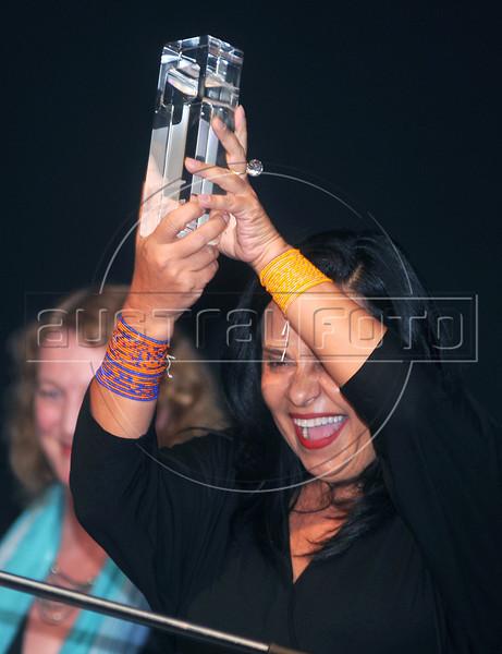 """PREMIO DE CINEMA ACIE 2012 - Ganhadores do premio """"Melhor blockbuster"""" por """"O Palhaco""""', Rio de Janeiro, Brasil, Maio 7, 2012. (Austral Foto/Renzo Gostoli)"""