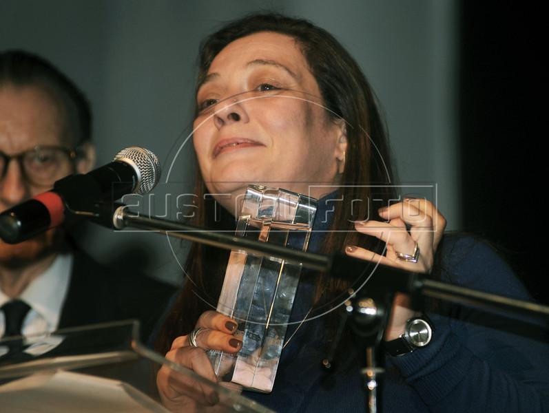 """PREMIO DE CINEMA ACIE 2012 - Ganhador do premio """"Melhor roteiro"""", Rio de Janeiro, Brasil, Maio 7, 2012. (Austral Foto/Renzo Gostoli)"""