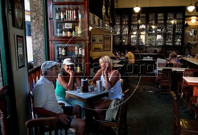 "Tipical ""boteco"", restaurant, in Santa Tereza, Rio de Janeiro, Brazil, November 21.  (AustralFoto/Renzo Gostoli)"