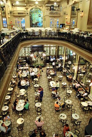 The historic Colombo restaurant, pastry and tea house in downtown Rio de Janeiro, Brazil, November 12, 2009. (AustralFoto/Renzo Gostoli)