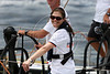 Swedish Crown Princess Victoria rides in the Ericsson Racing team boat during an in-port race in Rio de Janeiro, March 25, 2006. The race is part of the Rio stopover of the round-the-world Volvo Ocean Race. The race departs for Baltimore on April 2.(AustralFoto/Douglas Engle)