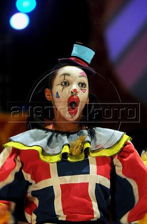 Unicirco, show, palhaco, Rio de Janeiro, Brazil, Abril 14, 2012. (Austral Foto/Renzo Gostoli)