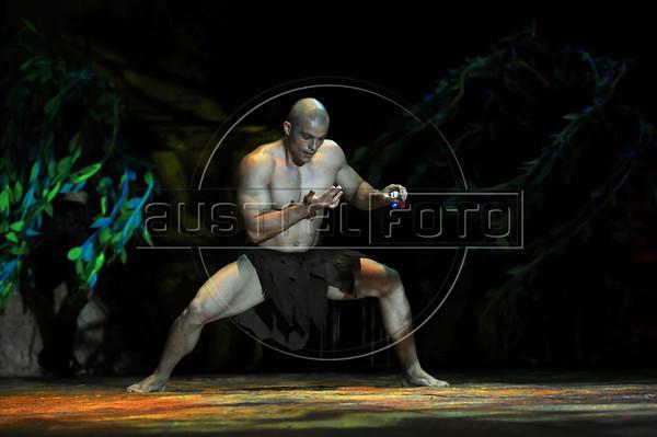 Unicirco, show, Richard, Rio de Janeiro, Brazil, Abril 14, 2012. (Austral Foto/Renzo Gostoli)
