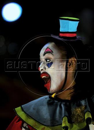 Unicirco, show, palhaco, Rio de Janeiro, Brazil, Abril 21, 2012. (Austral Foto/Renzo Gostoli)