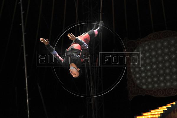 Unicirco, show, Rio de Janeiro, Brazil, Abril 23, 2012. (Austral Foto/Renzo Gostoli)