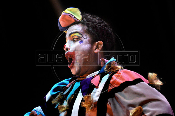 Unicirco, show, palhaco Rio de Janeiro, Brazil, Abril 23, 2012. (Austral Foto/Renzo Gostoli)