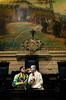 O ator Marcos Frota recebeu, na quarta-feira, a Medalha Pedro Ernesto da Câmara Municipal. A honraria é pelo trabalho do Unicirco, fundado por ele, por sua atividade artistico-educativa junto a jovens cariocas, Rio de Janeiro, Brasil, abril 25, 2012. Os palhacos Farelo e Muzzarela no plenario. (Austral Foto/Renzo Gostoli)