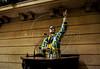 O ator Marcos Frota recebeu, na quarta-feira, a Medalha Pedro Ernesto da Câmara Municipal. A honraria é pelo trabalho do Unicirco, fundado por ele, por sua atividade artistico-educativa junto a jovens cariocas, Rio de Janeiro, Brasil, abril 25, 2012. O palhaco Farelo no plenario. (Austral Foto/Renzo Gostoli)