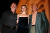 Jury Members Norman Jewison of Canada, Alicia Silverstone and Ben Gazarra of the USA before a film presentation at the inauguration of The World Adventure Film Festival, in Manaus, Capital of the Brazilian state of Amazonas, Nov. 5, 2005. The festival, billed as dedicated to the human spirit of adventure, was launched last year by the government of the State of Amazon to highlight its role of preserving natural heritage. (AustralFoto/Douglas Engle)