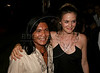 American actress Alicia Silverstone, right, greets well-wishers with Brazilian actor Fidelis Baniwa at the inauguration of The World Adventure Film Festival, in Manaus, Capital of the Brazilian state of Amazonas, Nov. 4, 2005. The festival, billed as dedicated to the human spirit of adventure, was launched last year by the government of the State of Amazon to highlight its role of preserving natural heritage. (AustralFoto/Douglas Engle)
