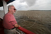 Canadian Director Norman Jewison looks at the Amazon River during a tour in Manaus, Capital of the Brazilian state of Amazonas, Nov. 6, 2005. Jewison is part of the jury of The World Adventure Film Festival, billed as dedicated to the human spirit of adventure, from Nov. 4 through 10, 2005. The festival was launched last year by the government of the State of Amazon to highlight its role of preserving natural heritage. (AustralFoto/Douglas Engle)