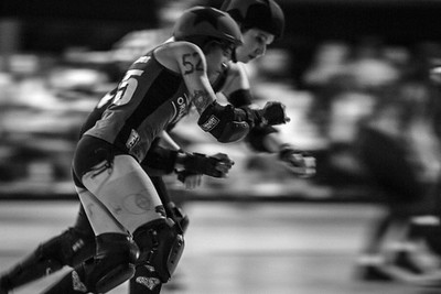 Orlando Derby - The Sunblockers take on the Thunder City Derby Sirens at the Dland The Rink.