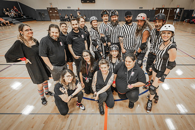 Orlando Roller Derby 2019 season ending games. The Heatwave Hellcats face off against the Snowbird Bombers, The winner faces off with the Manatee Mayhem!
