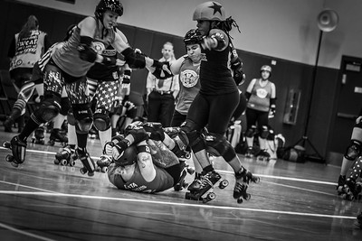 Orlando Roller Derby double header. Ozone Slayers vs. Bradentucky Bombers followed by Sun Blockers vs. Swan City Roller Derby.