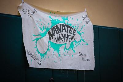 2018 Orlando Roller Derby home teams Season Closer. Manatee Mayhem vs Heatwave Hellcats, Manatee Mayhem vs Snow Bird Bombers - kabelphoto.com