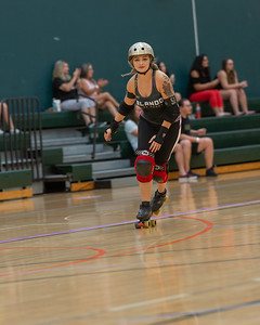 Orlando Roller Derby, Ozone Slayers vs Bradentucky Bombers Roller Derby .