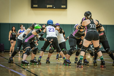 Redy, Set... Orlando Sun Blockers vs. Swan City Roller Derby from Lakeland.