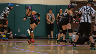 Orlando Sun Blockers vs. Swan City Roller Derby from Lakeland.