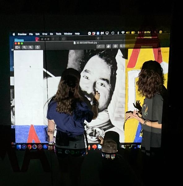 Art Club-Sophie Drewes '24, Shawn Ramie '25, Adela Arnal '21