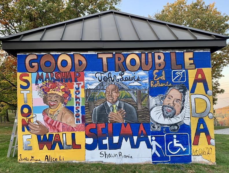 "Art Club ""Good Trouble"" Mural_heic"