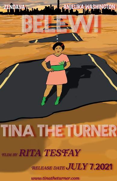 Tina The Turner Movie Poster
