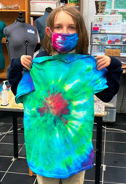 Color Theory Tie-Dye