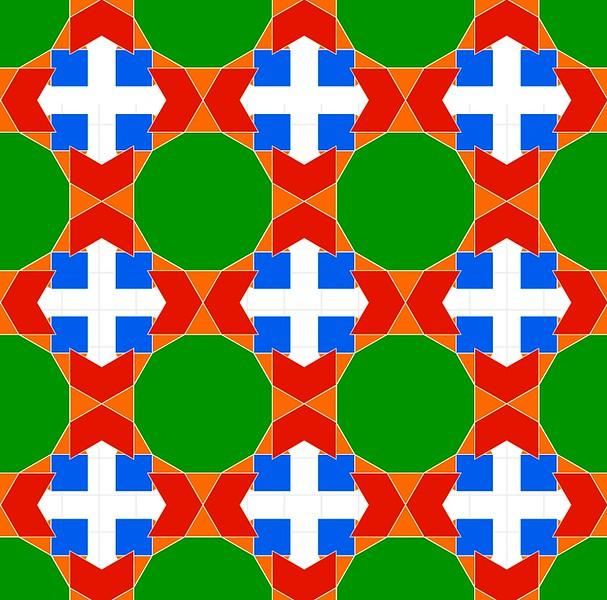 Tessellation (Islamic Tile)