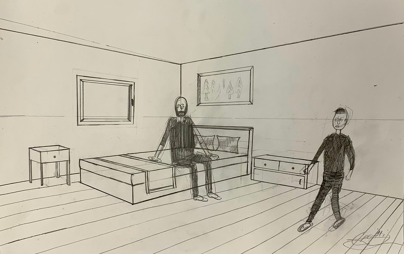 Two Figures in a Room