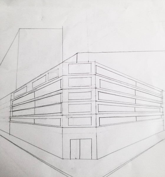2 pt Perspective Drawing