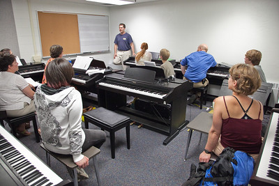 Fundamentals of Music class
