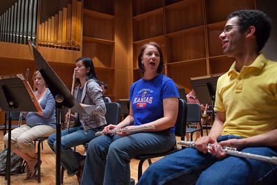 Wind Ensemble rehearsal 7.27