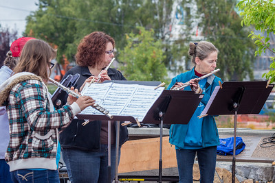 7.20: Flutes downtown, Pioneers' Concert, Beatles tribute