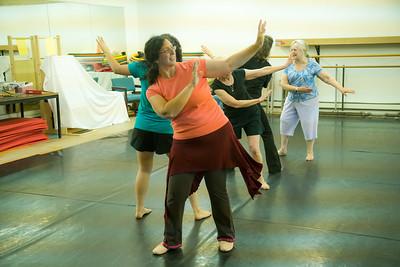 7.28 - Eastern Dance class