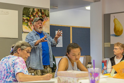 Thursday, 7.18 - Painting Class, Watercolors
