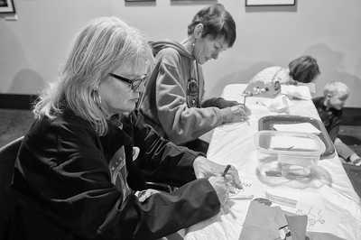 ASC Printmaking With CSA @ Charlotte Museum of History 1-27-18 by Jon Strayhorn