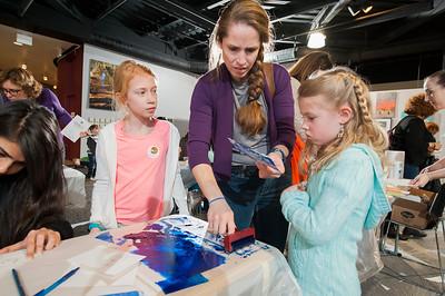 ASC Printmaking With CSA @ Charlotte Museum of History 1-27-18 by Jon Strayhorn