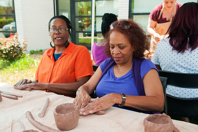 Culture Blocks-Clayworks Workshop @ Hickory Grove Library 4-15-17 by Jon Strayhorn