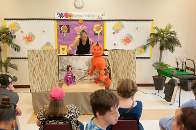 Little One Inch with Red Herring Puppets @ Bette Rae Thomas Center 6-1-17 by Jon Strayhorn