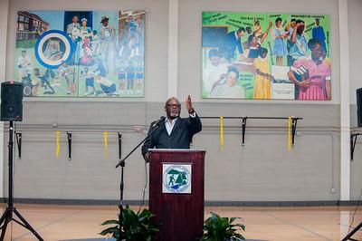 Tommie Robinson's 2nd Ward High School Art Dedication 2-7-19 by Jon Strayhorn