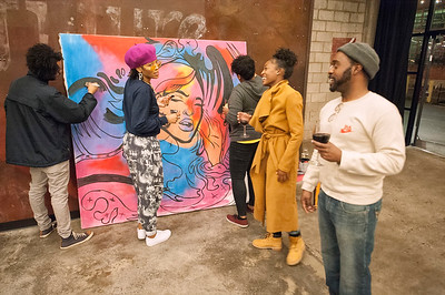 Young Donors Society Event @ Camp Northend 12-2-17 by Jon Strayhorn