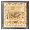 191125 Antique Cross Stitch Samplers 029 border